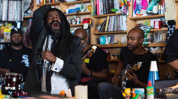 Rev. Sekou and the Seal Breakers perform a Tiny Desk Concert on June 13, 2018.