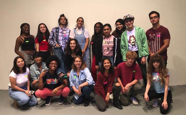 For four weeks, young artists from schools across Miami-Dade work with established contemporary visual artists to learn about the practical and creative aspects of mounting a public exhibition.