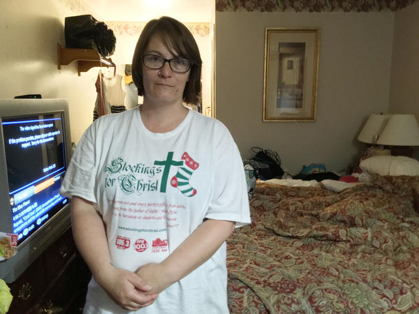 Shannon Cronin and her three children have lived at extended stay motels in Branson for the last six years.