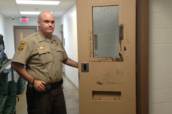 Champaign County Jail Lieutenant Ryan Snyder says a shortage of community-based mental health services creates a difficult scenario for law enforcement, as more people with mental illnesses end up in jail.