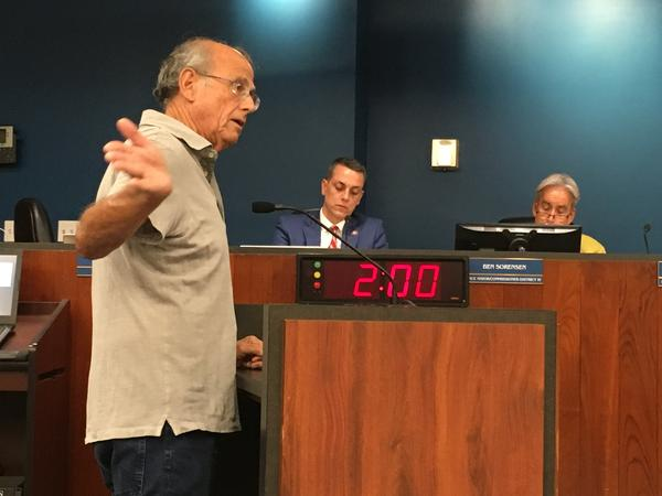 """Ft. Lauderdale residents say """"what's the rush?"""" regarding the Pier 66 development propsoal."""