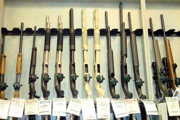 Guns for sale in Millbury, Massachusetts.