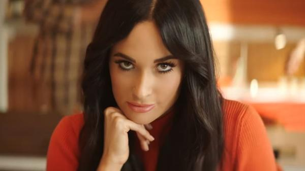 "A still from Kacey Musgraves' ""High Horse"" video."