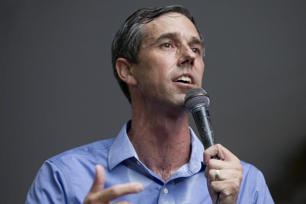Democratic Senate Candidate Beto O'Rourke