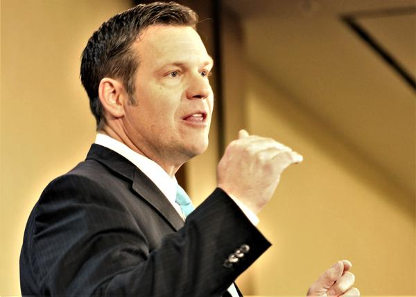 Secretary of State Kris Kobach