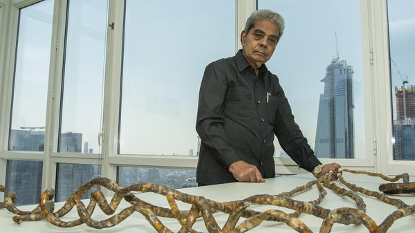 Shridhar Chillal, 82, let his nails grow for over six decades. He cut them off this month. They are now on display in the Ripley's Believe It or Not! museum in New York City.