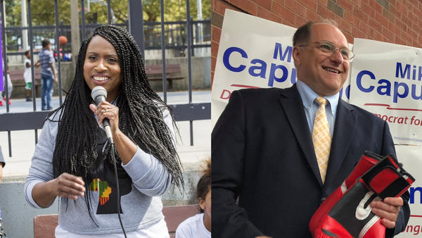 Ayanna Pressley, the first black woman elected to the Boston City Council in its 100-plus-year history, is taking on a 10-term white male incumbent, Rep. Michael Capuano, in Massachusetts' 7th Congressional District.