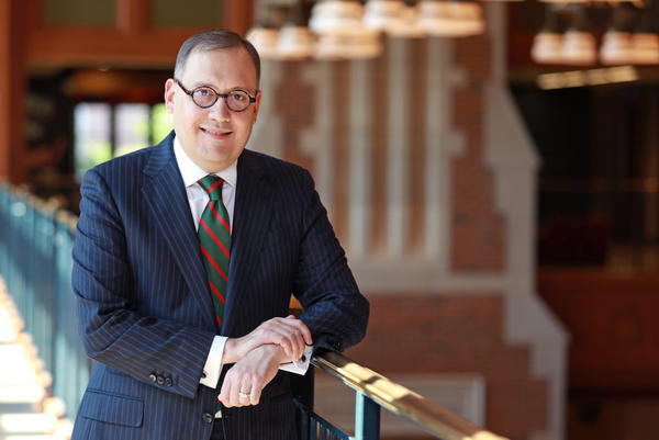 Andrew D. Martin will serve as the 15th chancellor of Washington University. His tenure as chancellor will begin June 1, 2019.