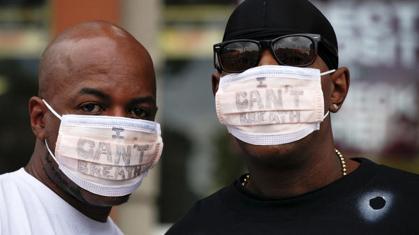 "New York City police are giving the Justice Department a deadline to announce criminal charges in the 2014 killing of Eric Garner. The death of Garner, who repeatedly told police ""I can't breathe,"" spurred protests."