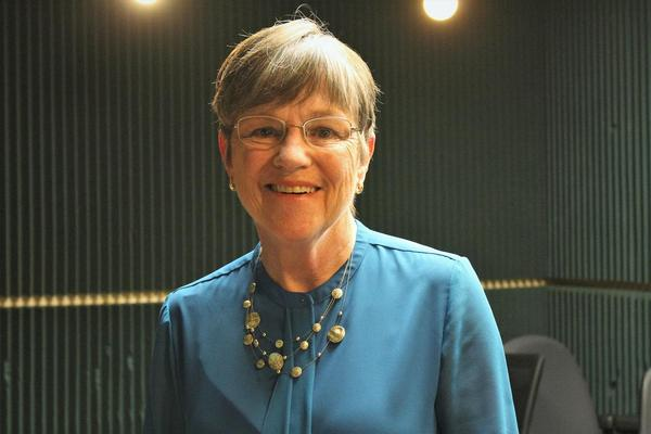 Kansas Sen. Laura Kelly didn't put a price tag on her proposal but said some of it could be paid for by shifting money from underperforming economic development efforts.
