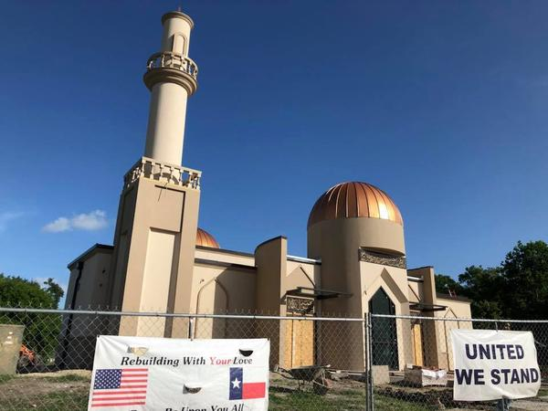 Efforts to rebuild the Victoria Islamic Center started within days of an arson attack in January 2017. The Texas mosque is getting closer to being ready to hold services again.