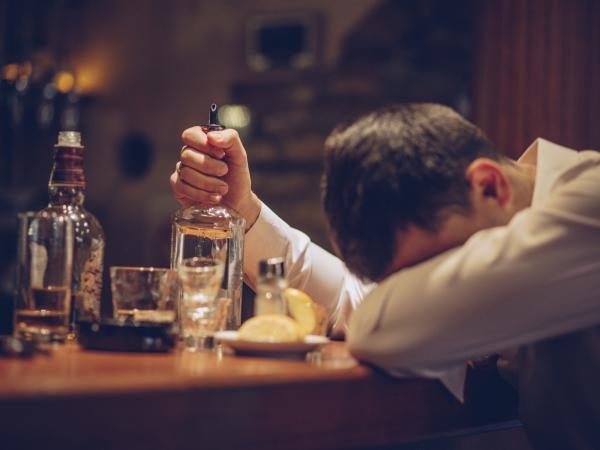 Young people who drink heavily may be at risk of fatal liver disease.
