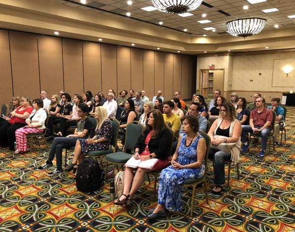 Parents of students killed at a shooting at Marjory Stoneman Douglas High School on Feb. 14 - and of the teens who are leading the national March For Our Lives movement - were among those who attended the meeting with Duncan at a Coral Springs hotel.