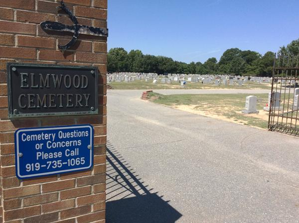 At Elmwood Cemetery in Goldsboro, the remains of 36 people buried just under the surface of the ground were disinterred by Hurricane Matthew.