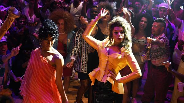 In the <em>POSE</em> season finale, Blanca (Mj Rodriguez) and Lulu (Hailie Sahar) give good face-off.
