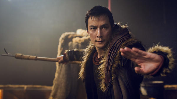 Daniel Wu plays the starring role in the TV series <em>Into the Badlands</em>, and also serves as one of its executive producers.
