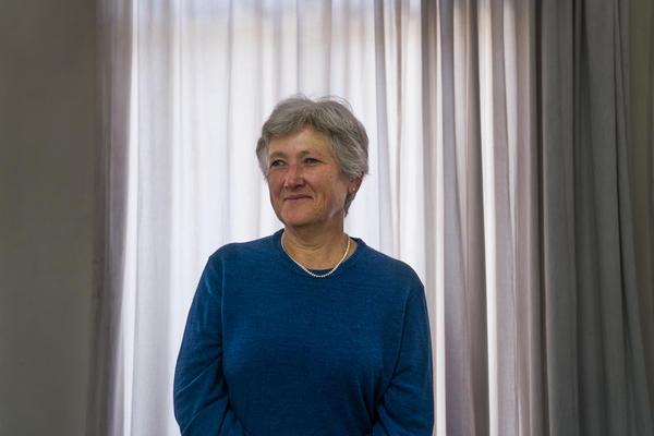 Dr. Frances Lovemore is the director of a rights organization called the Counselling Services Unit, which provides medical care and other services for victims of political violence.