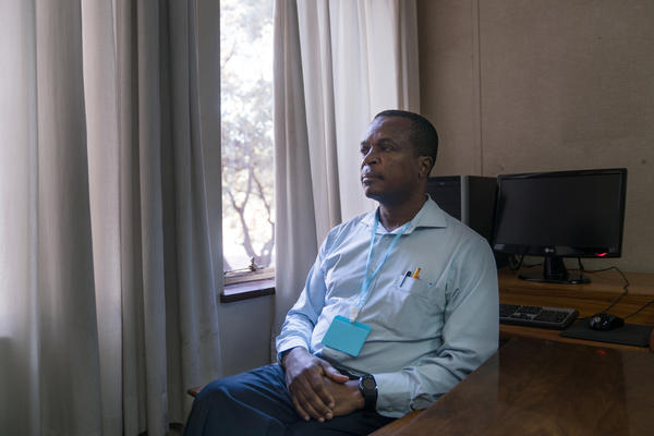 Fidelis Mudimu is the national programs director for the Counselling Services Unit.