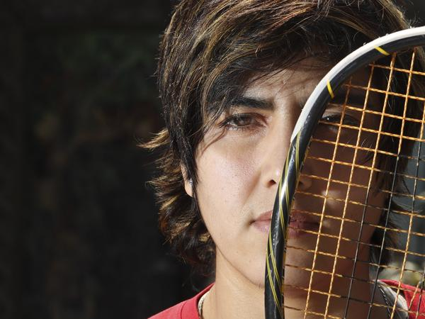 Maria Toorpakai, a top squash player from Pakistan, is the star of a PBS documentary airing on July 23.