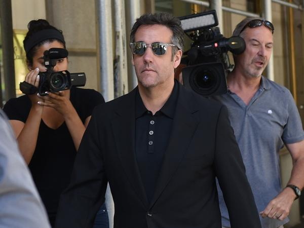 Michael Cohen, a longtime lawyer of President Trump, reportedly taped their conversation about payments to Karen McDougal. The former Playboy model hoped to publish an account of her alleged affair with Trump.