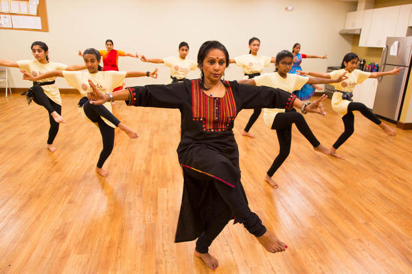 Asha Bala, founder of the Leela School of Dance in Cary, trains young women in dances that are new to them and yet centuries old.