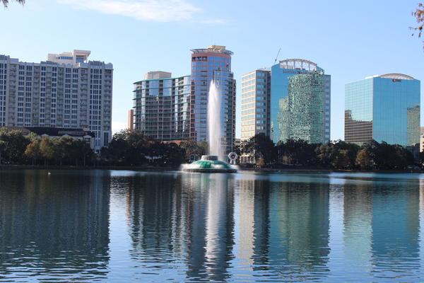 Orlando's skyline.