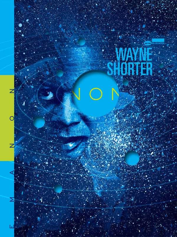 "Cover art for Wayne Shorter's ""Emanon"""