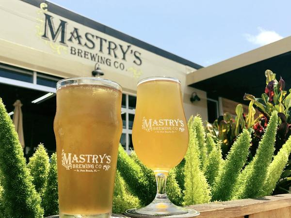 The Tampa Bay area boasts more than 60 breweries, including Mastry's Brewing Co. in St. Pete Beach and Cigar City Brewing in Tampa.
