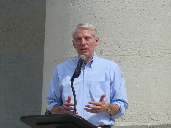 U.S. Sen. Rob Portman says President Donald Trump's plan to provide subsidies to farmers might be a good short-term solution.