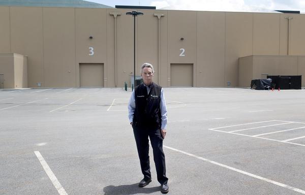 General Manager Gary Crossen at New England Studios, in Devens. (Andrea Shea/WBUR)