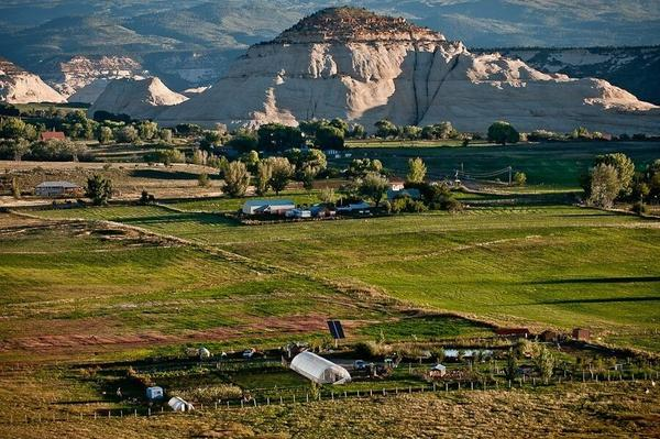 Hell's Backbone Grill is located in Boulder, Utah, about 250 miles south of Salt Lake City. The restaurant's owners are fighting Trump's plans to slash the size of nearby Grand Staircase-Escalante National Monument by more than half.