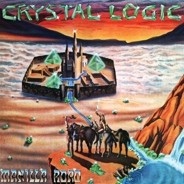 <em>Crystal Logic</em>, released in 1983, set the sprawling pace for Manilla Road's epic heavy metal.