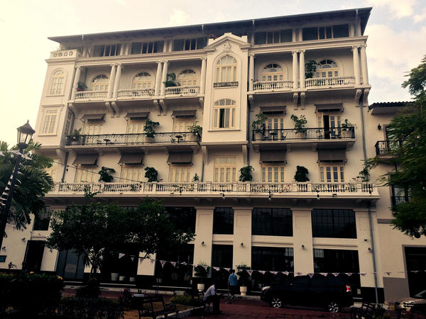 Developer K.C. Hardin has rehabbed the neoclassical American Trade Hotel, which had been home to one of Casco Viejo's fiercest gangs.