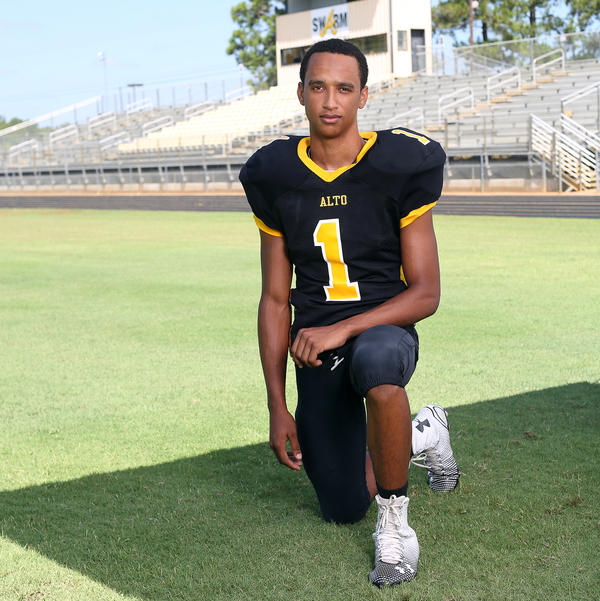 Cam'ron Matthews played safety on the Alto, Texas, varsity football team. The 16-year-old died after a game in October.