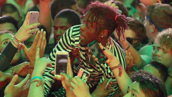 Lil Uzi Vert, caught surfing the crowd at Coachella last April, released his album <em>Luv Is Rage 2</em> last week.