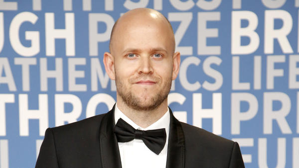 Daniel Ek, co-founder and CEO of Spotify. The company recently filed papers to begin trading on the public market.