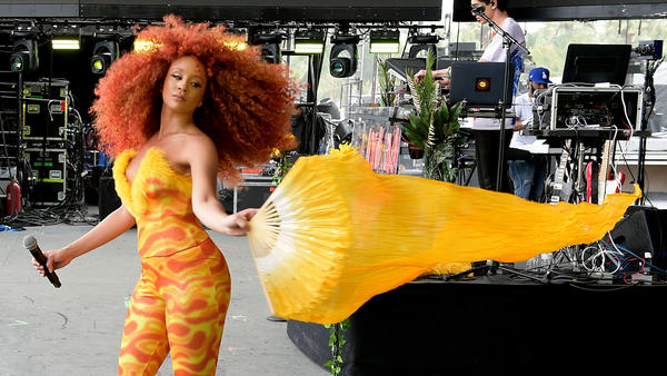 Lion Babe performs at 2018 Coachella Valley Music and Arts Festival Weekend 1 on April 15, 2018 in Indio, Calif.