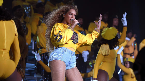 Beyoncé became the first black woman to headline Coachella Valley Music And Arts Festival on April 14, 2018 in Indio, Calif.