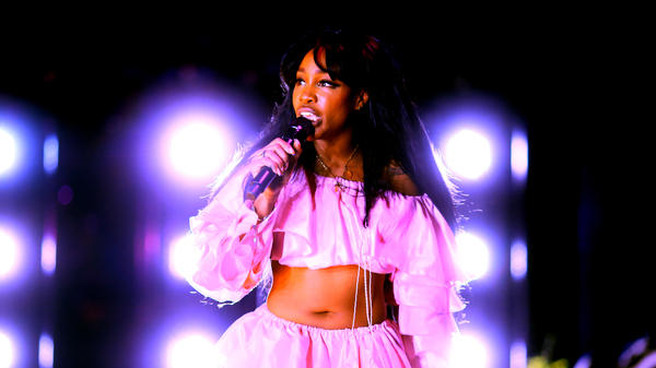 SZA performs at 2018 Coachella Valley Music And Arts Festival on April 13, 2018 in Indio, Calif.
