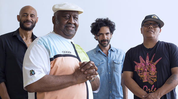 Bernard Purdie and his band. <em>Cool Down</em>, the latest album by Bernard Purdie & Friends, is out now.