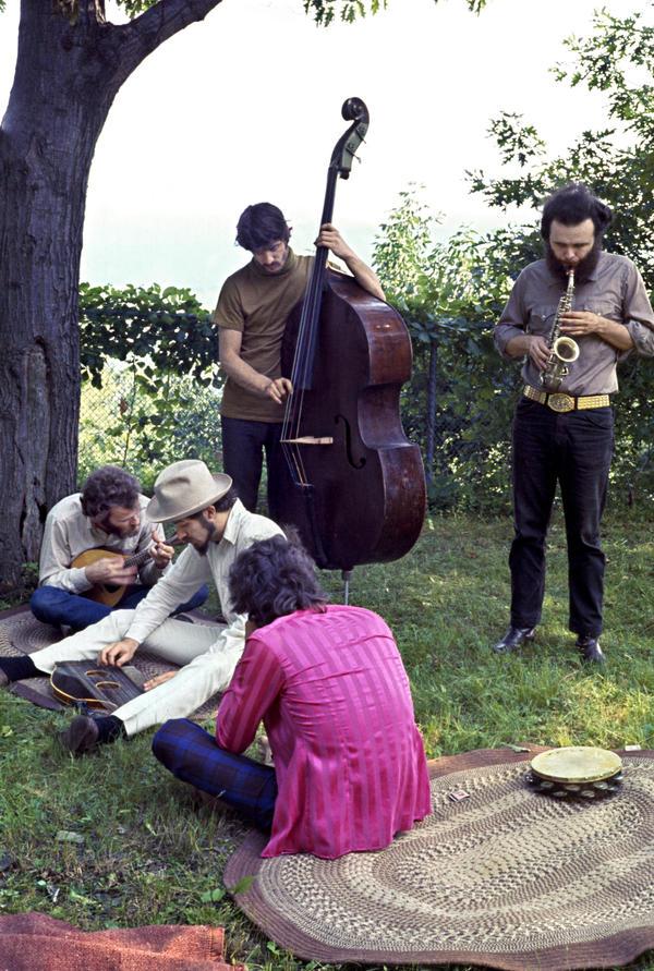 Richard and Garth's house on Spencer Road, Ohayo Mountain. Woodstock, NY, '68