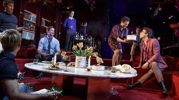 Fifty years after it was first staged, <em>The Boys in the Band</em> is finally playing on Broadway, with an all-gay cast including several film and TV stars.
