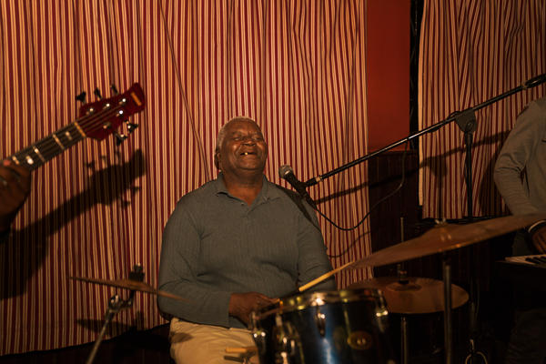 Ebba Chitambo, the 66-year-old co-founder of Wells Fargo, now plays in Friends Band.