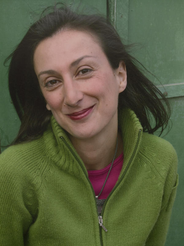 An undated photo of Daphne Caruana Galizia, who was a Maltese journalist and anti-corruption blogger and was killed by a car bomb on Oct. 16, 2017.