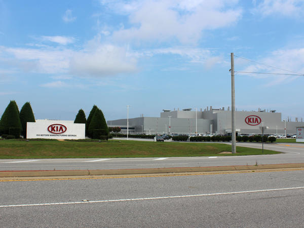 Kia's 2,200-acre plant in West Point and local suppliers employ 14,000 people, according to the car company.