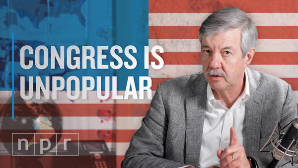 Why is Congress so unpopular, and why do its members continue to be re-elected? NPR's Ron Elving explains.