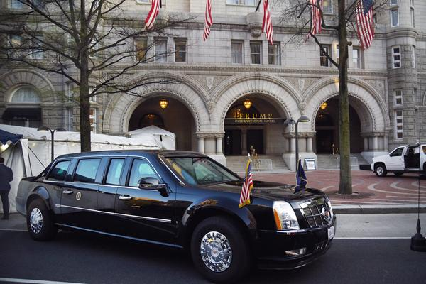 After opening shortly before the 2016 election, the Trump International Hotel in Washington, D.C., has quickly became a favorite gathering place for the president's supporters.