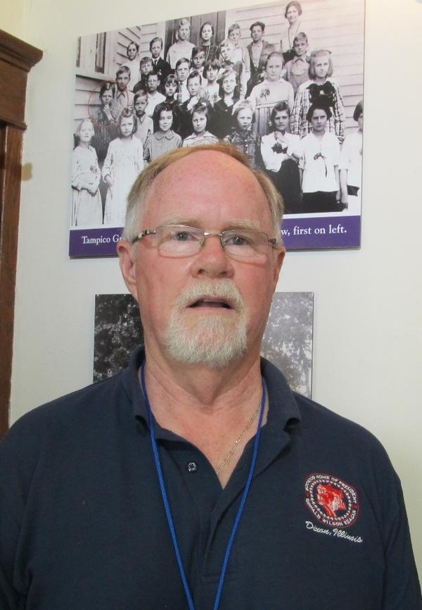 Reagan Home executive Director Patrick Gorman
