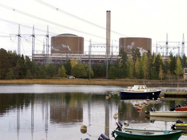 The Loviisa nuclear power plant in Finland reduced its electricity output because of warmer seawater.