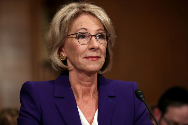 Education Secretary Betsy DeVos is proposing new rules to the Borrower Defense program.